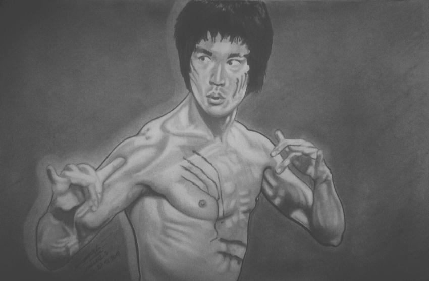 Bruce Lee par jackiechan